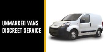 Unmarked Van Descret Service