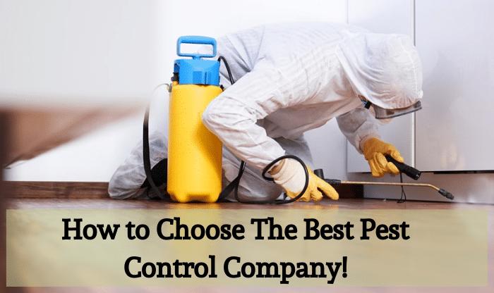 choose the best pest control